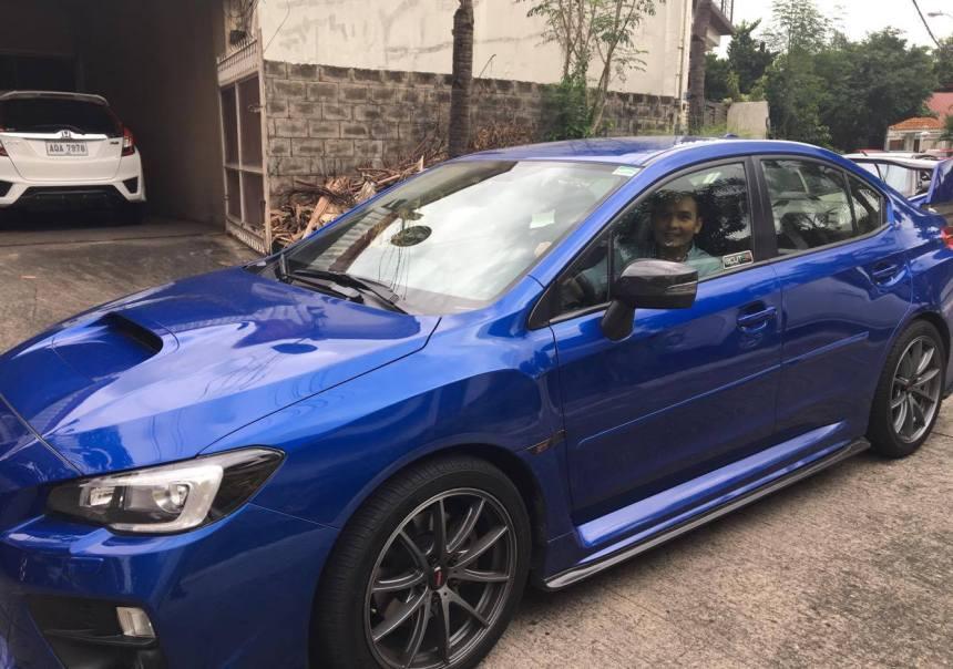 Subaru STI bought cash