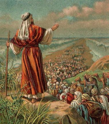 MOSES FREED ISRAELITES